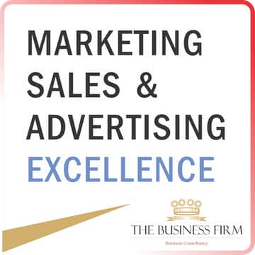 MARKETING SALES & ADVERTISING EXCELLENCE - The Business Firm